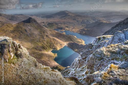 Canvas Print Views from Snowdon