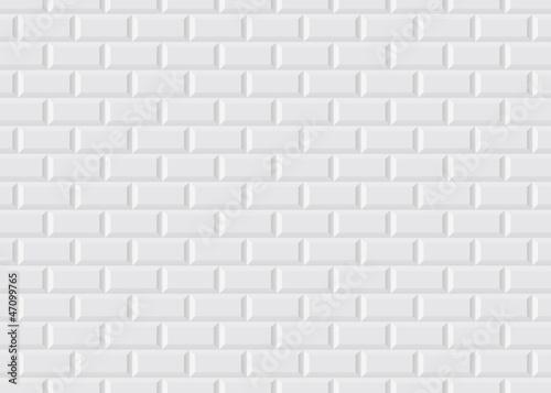 Carrelage blanc metro