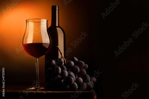 Vino rosso Fototapete