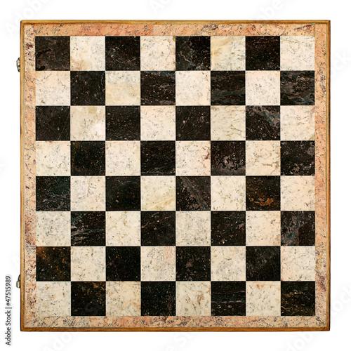 Stampa su Tela Old Decorative Chessboard