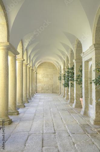Valokuva Mediterranean court of columns