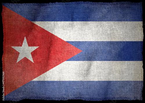 CUBA NATIONAL FLAG #47592366