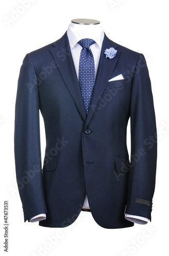 Canvas-taulu Formal suit in fashion concept
