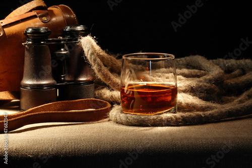 Carta da parati Still Life With Rum
