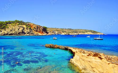 Cala Xarraca, Ibiza, Islas Baleares, Spain (Europe)