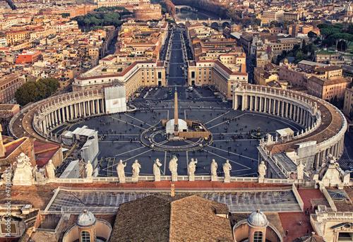 Piazza San Pietro in Vatican City Fototapeta