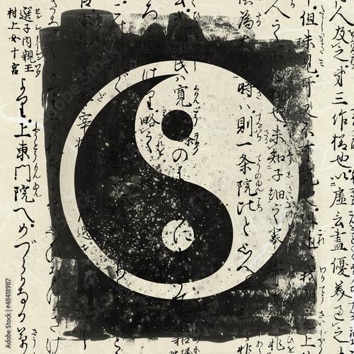 Canvas Print Yin And Yang