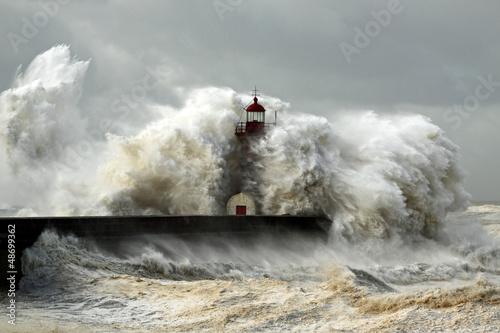 Obraz na plátne Windy Coast