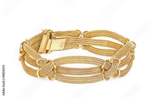 Fotografía gold bracelet