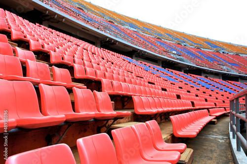 Fototapeta premium Miejsca na stadionie