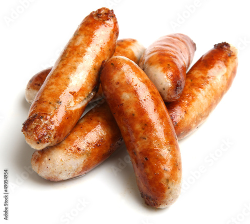 Photo Cooked Sausages