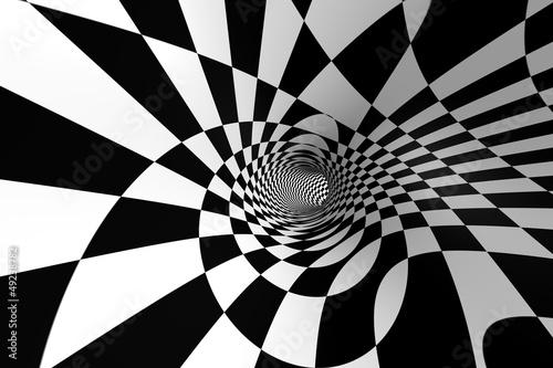 Fototapeta premium Spirala abstrakcyjna 3D