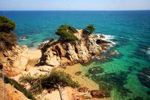 Fotografia Typical Costa Brava landscape