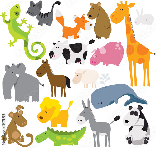 animals set #49478955