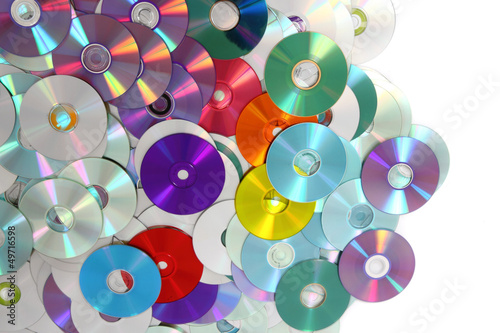 CD and DVD  technology background #49716598
