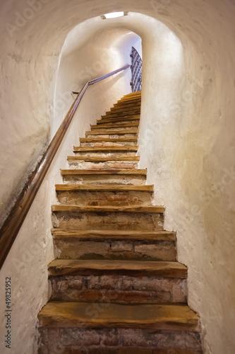 Fototapeta premium Schody w zamku Kufstein - Austria