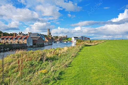 Canvas Print Panorama of St Andrews, Fife, Scotland