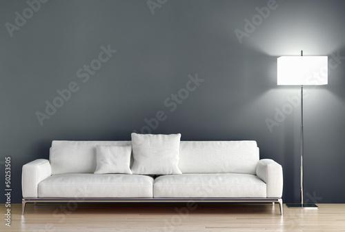 Obraz na płótnie Living room