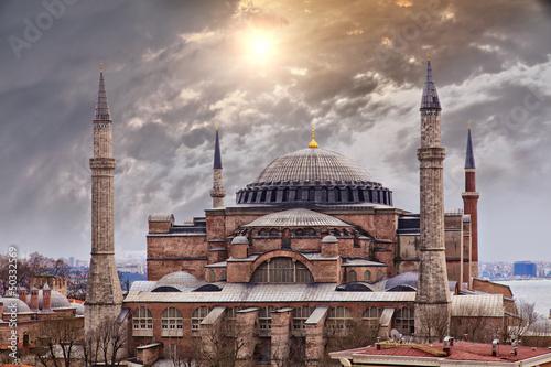 Valokuvatapetti Hagia Sophia Istanbul