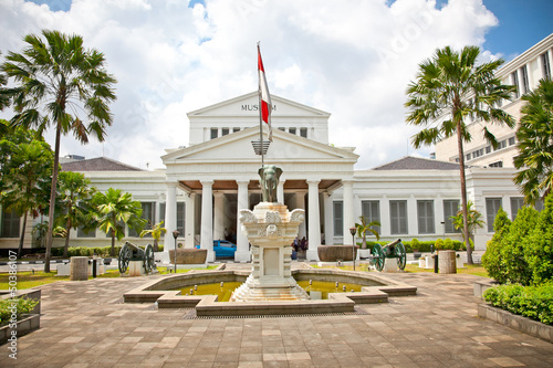 National Museum on Merdeka Square in Jakarta, Indonesia.