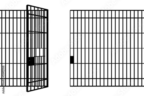 Canvas Print prison