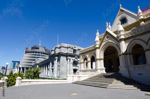 Wellington Parliament library