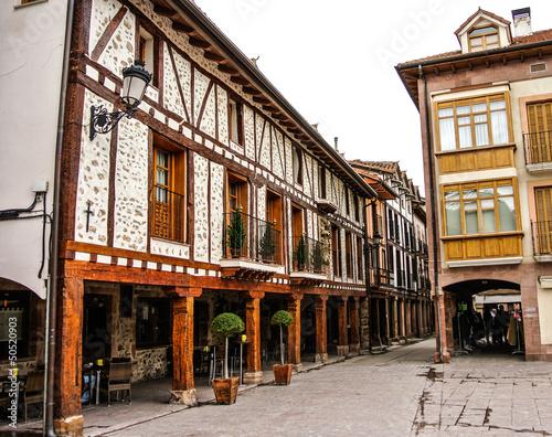 Street of Ezcaray (La Rioja, Spain)