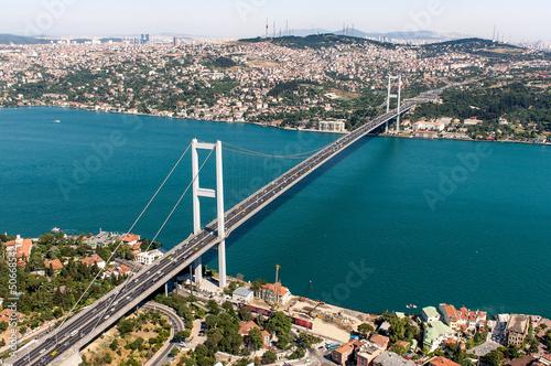 Canvas Print Bosphorus Bridge