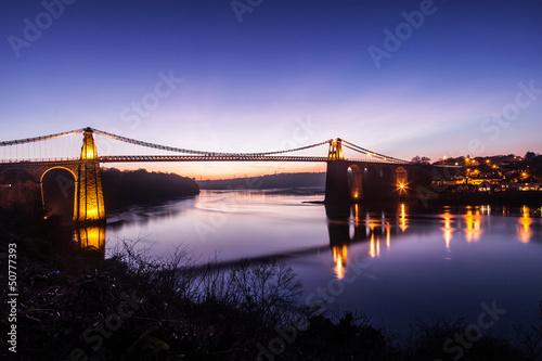 Menai Bridge Fototapeta