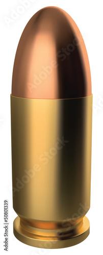 Stampa su Tela 9 mm bullet