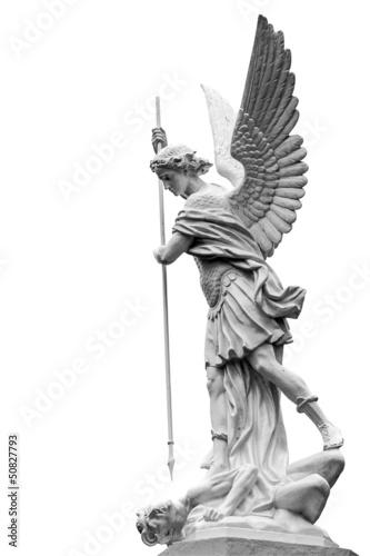 archange Saint-Michel terrassant le Diable Fototapeta