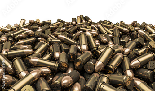 Fotografia Bullets pile