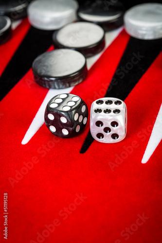 Fotografia backgammon