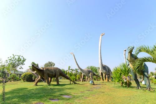 Fototapeta premium publiczne parki posągów i dinozaurów