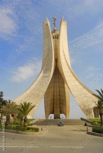 Mémorial aux Martyrs (Makkam Ech-Chahid)-Alger-Algerie