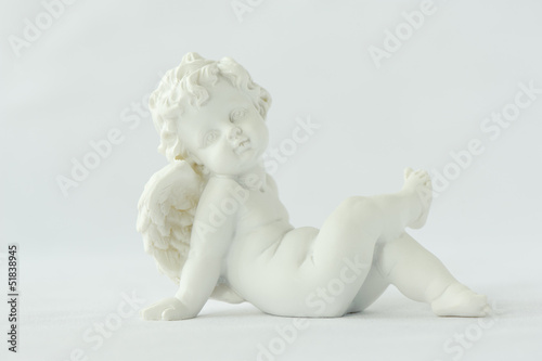 Canvas Print Statue of a winged angel