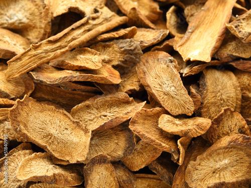 Photographie Herbal , dry burdock root