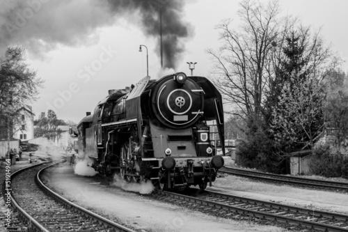 Steam train #51914964