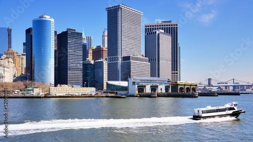 Fototapeta premium New York Harbor Skyline
