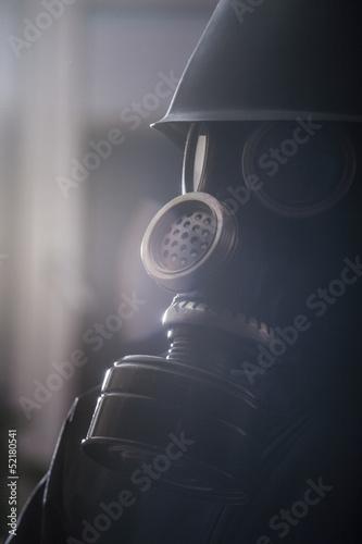 Fotomural Gas mask