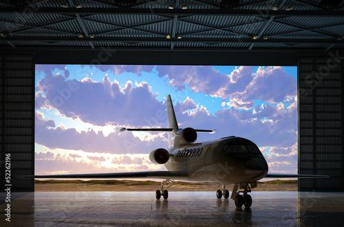 Fotografia The   hangar.