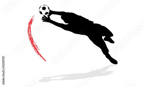 Foto Goalkeeper In Action (9/12)