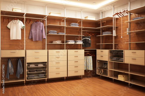 Fotografie, Obraz Exclusive wardrobe