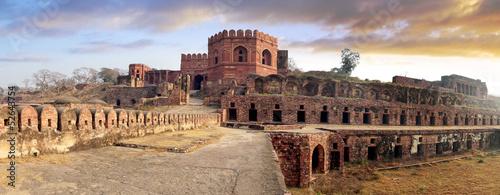 Obraz na płótnie Ancient ruins of Fatehpur Sikri Fort, India.