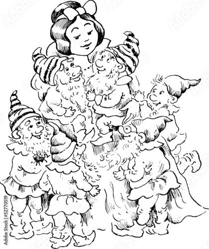 Photo Snow White and the Seven Dwarfs