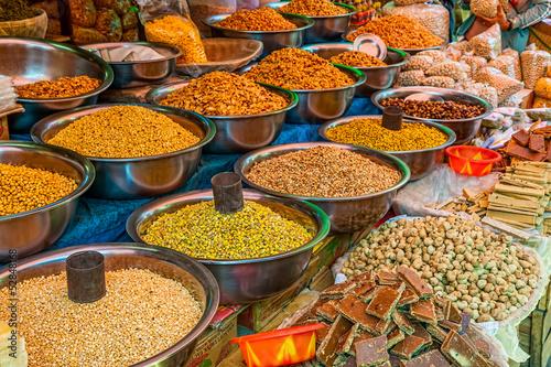 Obraz na płótnie Street market