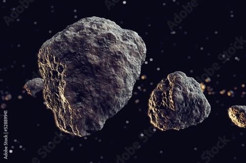 Meteors.