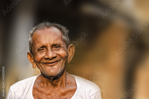 Slika na platnu Old Indian Man