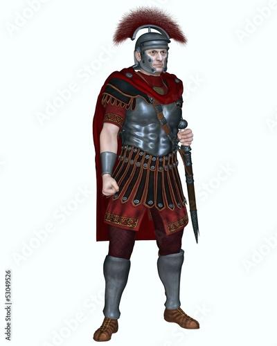 Obraz na płótnie Roman Centurion with Transverse Crest