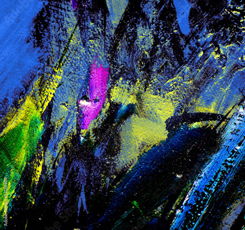 abstract painting by oil on canvas,  illustration